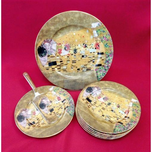 Klimt süteményes készlet, Csók, 8 részes (16601)