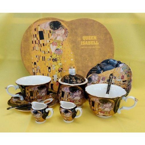 Klimt teás szett, Csók, 2 személyes
