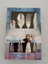Gyerek evőeszközkészlet, 4 részes, Frozen