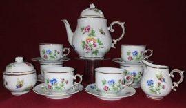 Teás készlet, Hortenzia, 15 részes