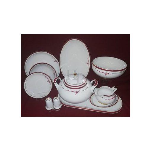 Hollóházi Étkészlet, Purpur Tátika, 26 részes