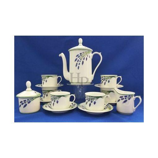 Teás készlet,Levendula, 15 részes