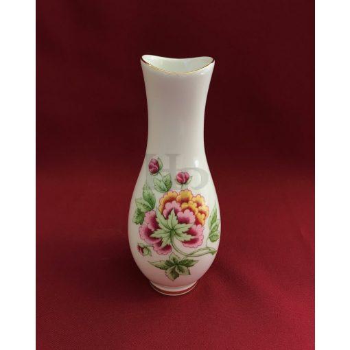 Hollóházi 506 Váza, Hortenzia, 20 cm