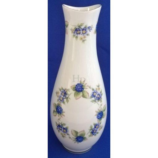 Hollóházi 5047 váza, Szeder, 28 cm