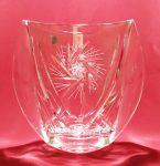 Forgó mintás váza, 18 cm