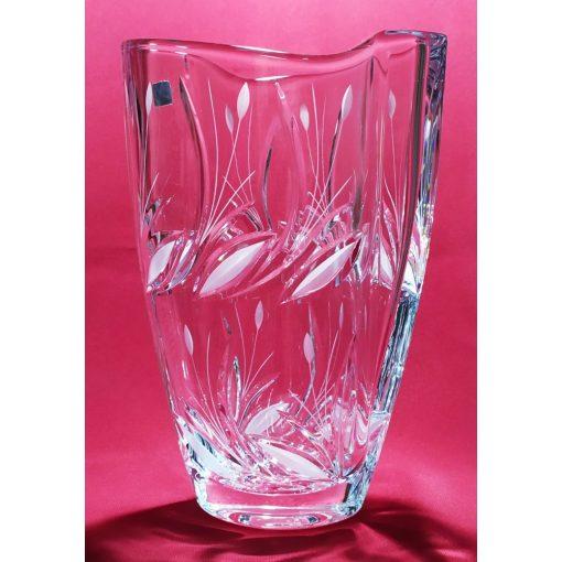 Nád mintás váza, 23 cm