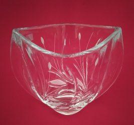Nád mintás váza, 18 cm