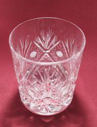 Whisky pohár, Sűrű mintás, 300 ml