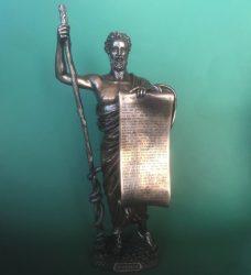 Hippokratészi eskü szobor