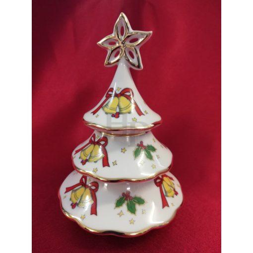 Hollóházi Karácsonyfa gyertyatartó, Mária, 3 részes